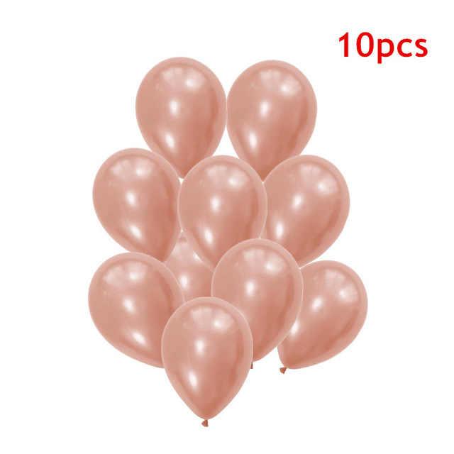 16 шт. конфетти из розового золота воздушный шар для Бэйби Шауэр девушка баллон гелия Baloes DIY любовь свадьба Вечеринка день рождения шары Dcoration мяч