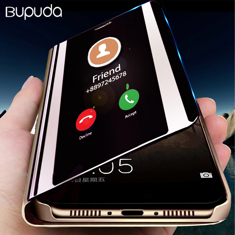 Smart Mirror Protective Phone Case For Samsung Galaxy S9 S8 Plus S7 S6 Edge Note 8 9 J3 J4 J5 J6 J7 A3 A5 A7 A8 2017 2018 Case