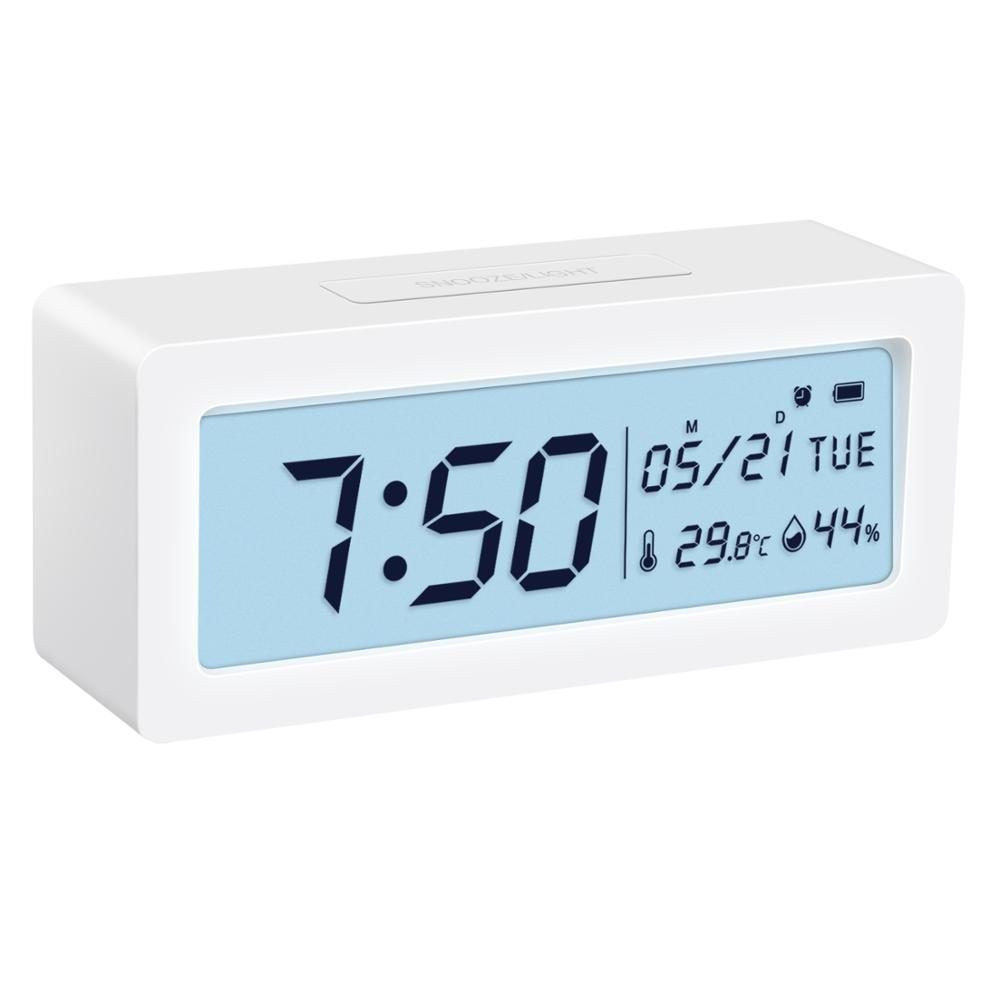 Large LCD Screen Gauge Indicator ℃//℉ Switch Bedroom for Home Alarm Clock with Temperature ORIA Digital Hygrometer Thermometer Kitchen Indoor Humidity Monitor Office