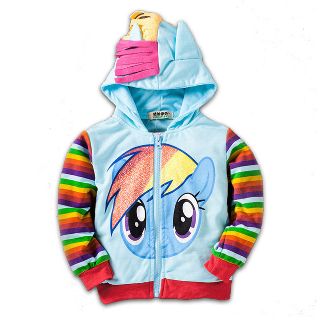 High Quality Winter Little Girls&Boys Coat Kids Jackets Children Hoodies Clothing Pokemon Girls Sweatshirt Jacket Boy Outwear