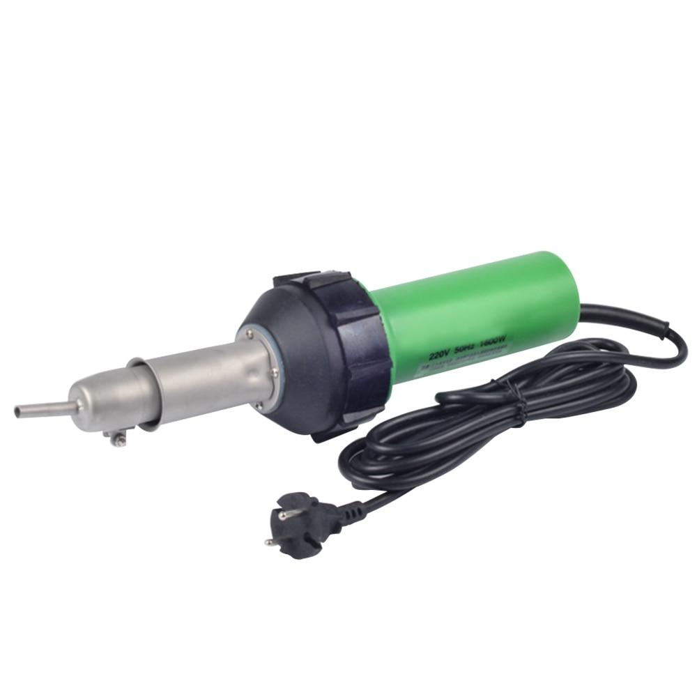 AC 220V 1600W Hz 50 Tocha De Ar Quente Pistola De Solda De Plástico Para Soldador Plugue DA UE