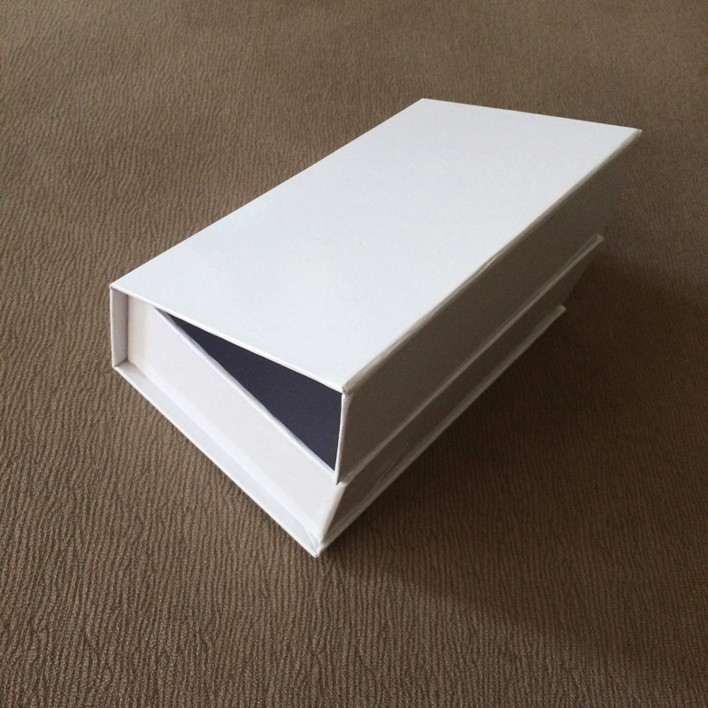 5 Pieces No Logo Evaginable Paper Packaging With Gift Box Packaging Box Rectangular Box Size 160x98x47MM 6.3x3.85x1.85 Inch