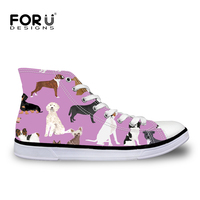 58c5f2904316f FORUDESIGNS Cute Dogs Pattern Women Sneakers 2018 Fashion Breathble  Vulcanized Shoes Casual Canvas Shoes Zapatos Tenis