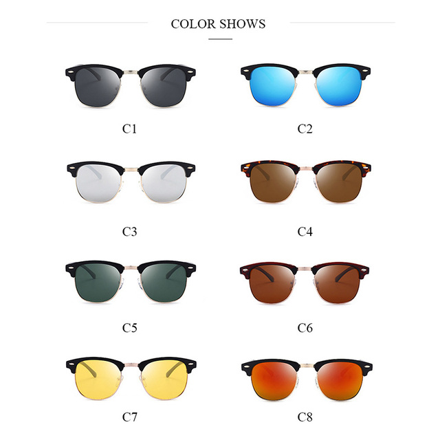 e7cbc50338c4 Jsooyan 2018 Polarized Sunglasses Men Fashion Night Vision Driving Sunglass  Classic Retro Round Shades Sun Glasses Male Eyewear