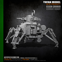 YUFAN Model original 1/35 machine armor tank robot resin soldier YFWW 1835 KNL Hobby
