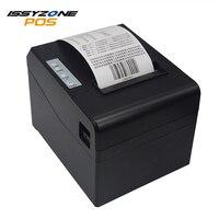 ISSYZONEPOS 80 мм Термальность получения принтер Поддержка денежный ящик ESC/POS Системы с USB/последовательных интерфейсов Ethernet билл принтера