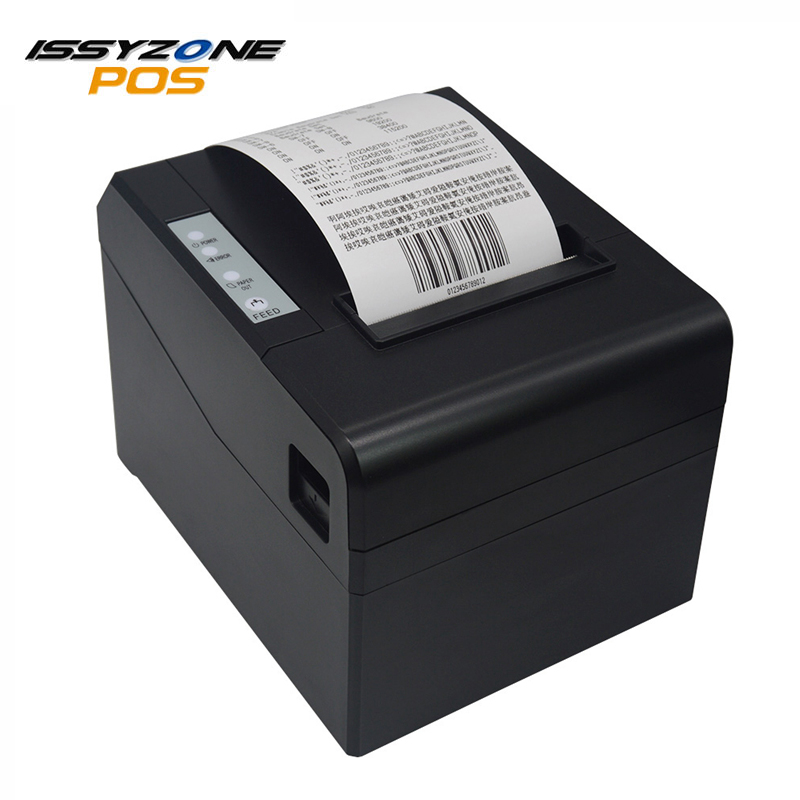 ISSYZONEPOS 80mm imprimante à reçu thermique prend en charge le tiroir-caisse système ESC/POS avec imprimante USB/série/Ethernet