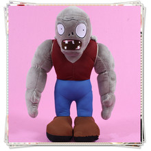 Giant Zombie Plants vs zombies soft toy plants vs zombies cupcake doll toys for children plants vs zombies sleeping pillows