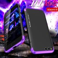 UYG Xiaomi Mi 6 Case Luxury Metal Aluminum Super Cool Design Dual Color Ultra Thin With