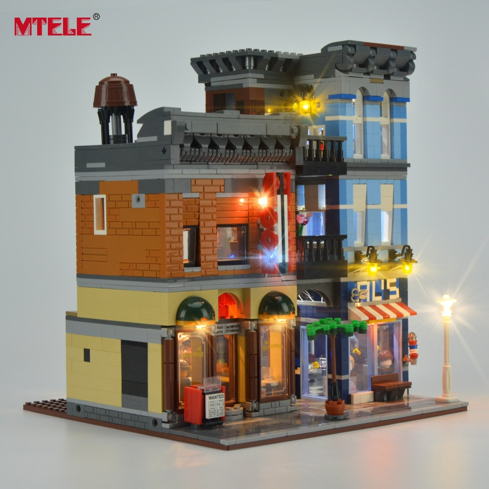 Komplet LED osvetlitve blagovne znamke MTELE za pisarniški komplet - Gradbeni igrače - Fotografija 3