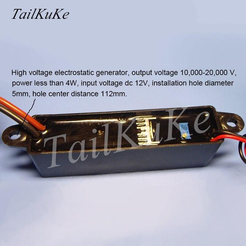 High-voltage Electrostatic Generator/electrostatic Sprayer/air Purification, Electrostatic Precipitator/anion Generator