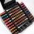2016 Venda de Luxo Hot Mulheres Cosméticos Eyeshadow Pro 130 Completa Cores brilho Fosco sombra de Olho Paleta de Maquiagem Make Up Kit Para Presente