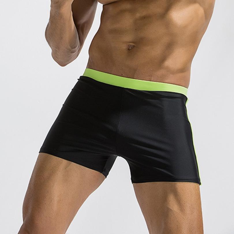 Mens Breathable Swim Trunks Pants Swimwear Shorts Slim Wear Bikini Swimsuit Swimming Trunks for men Swimsuits of Large sizes