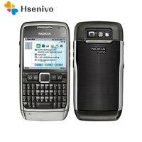 E71 100% оригинальный Nokia E71 мобильный телефон 3g Wi Fi gps 5MP Восстановленное разблокирована серии E Смартфон русская клавиатура