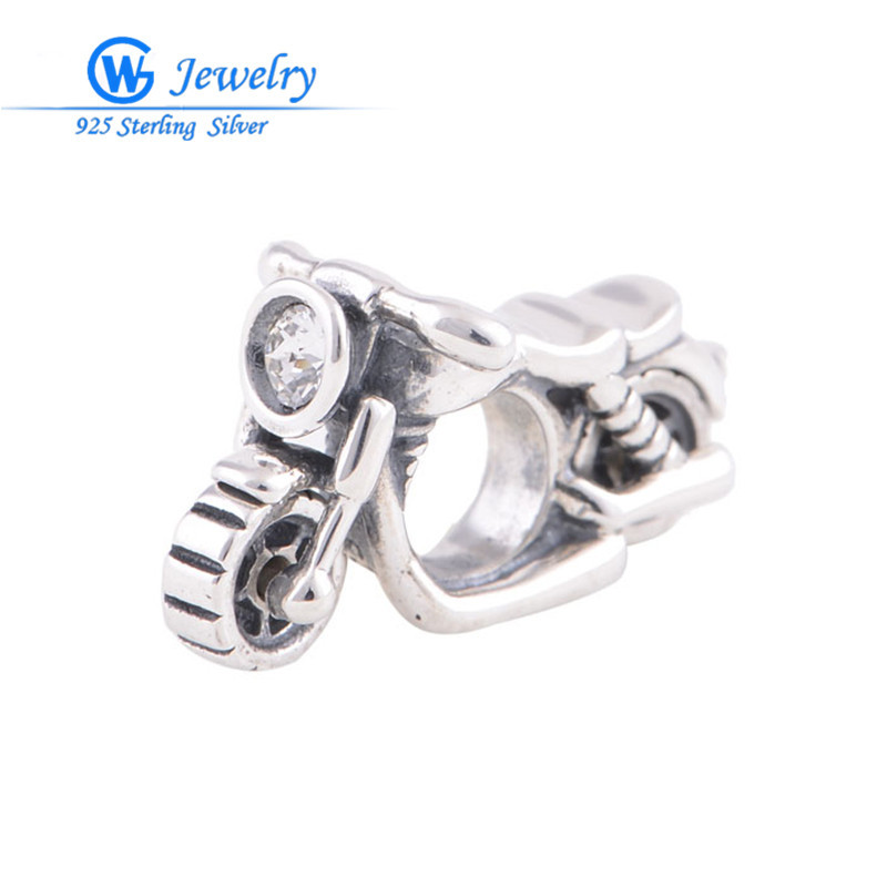 Motorcycle sports charms for man genuine silver 925 for christmas diy jewelry alibaba wholesale GW Fashion jewelry X208H20 брелок gw jewelry