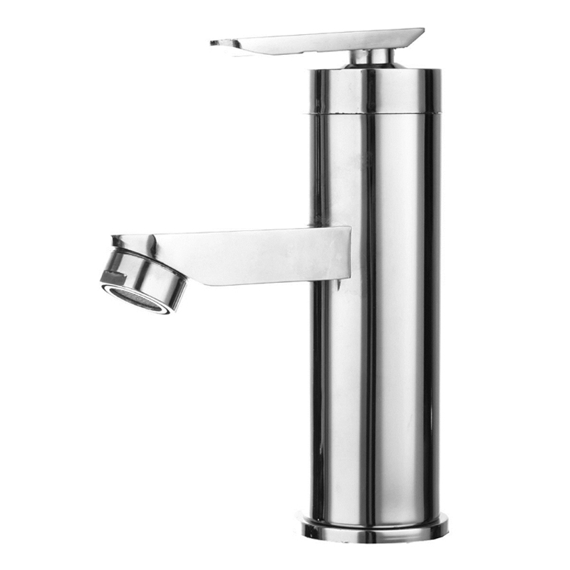 Bathroom Basin Sink Faucet Mixer Chrome Single Handle Sink Tap Cold Hot Water Faucet Waterfall Basin Faucet Silver Tap Faucet xogolo fashion waterfall faucet for bathroom chrome single hole basin faucet mixer new arrival cold and hot sink tap