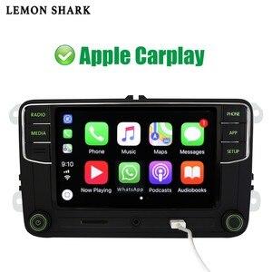 Image 3 - Yeşil Android otomatik Carplay Noname RCD330G RCD330 artı yeşil düğme araba radyo 6RD 035 187B Skoda Octavia Fabia Superb yeti