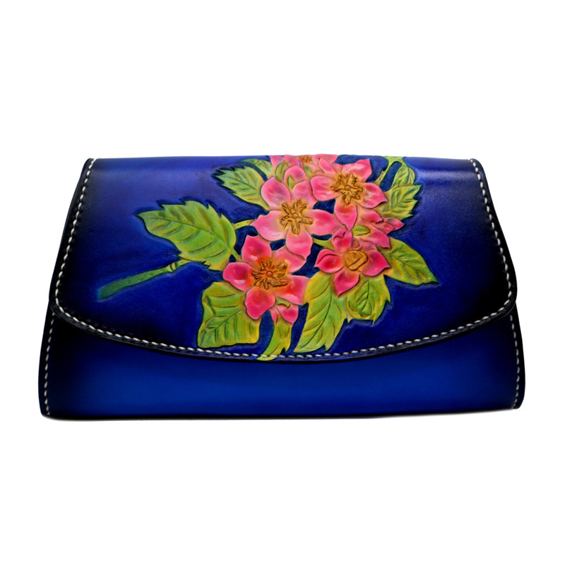 Chinese Style Genuine Leather Handbag Clutch Women Lotus Handbags Messenger Bags Shoulder Lady Vegetable Tanned Leather BagChinese Style Genuine Leather Handbag Clutch Women Lotus Handbags Messenger Bags Shoulder Lady Vegetable Tanned Leather Bag