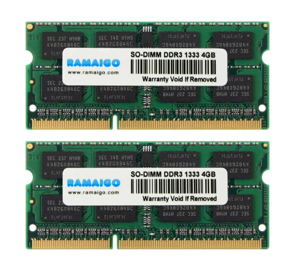 RAMAIGO DDR3 2 GB 4 GB 8 GB 16 GB SODIMM DDR3 portátil memoria Ram 1333 mhz 1600 mhz portátil carneros para todas las placas base