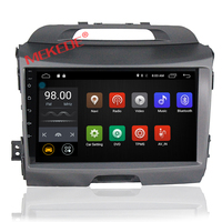 Pure Android 7.1 Quad Core Car DVD player for KIA sportage r/Sportage 2010 2014 2011 2012 2013 2015 radio BT car gps dvd player