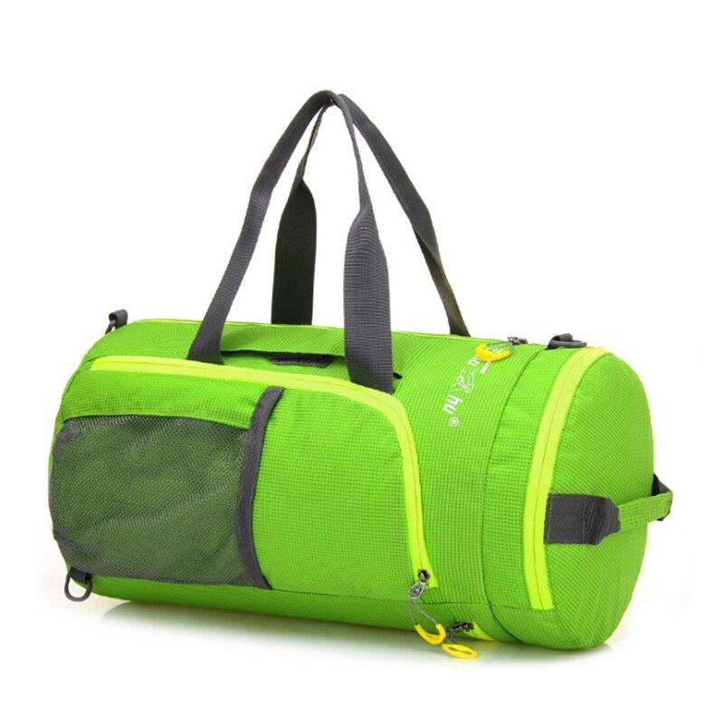 3 ways usage sport bag brand style women bag sacoche sports&gym malas bag round shape tassen free shipping sport bag