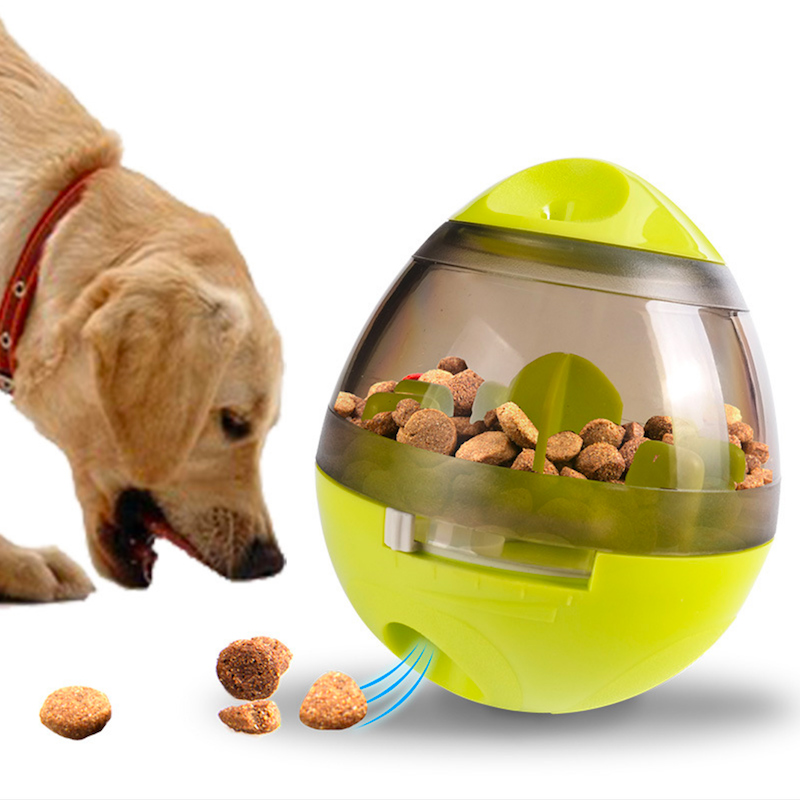 Treat Ball Interactive Pet Dogs Cats Food Dispenser Ball Food IQ Treat Ball Dispensing Feeding Ball Slow Feed Bowl Pet Game Toy ...