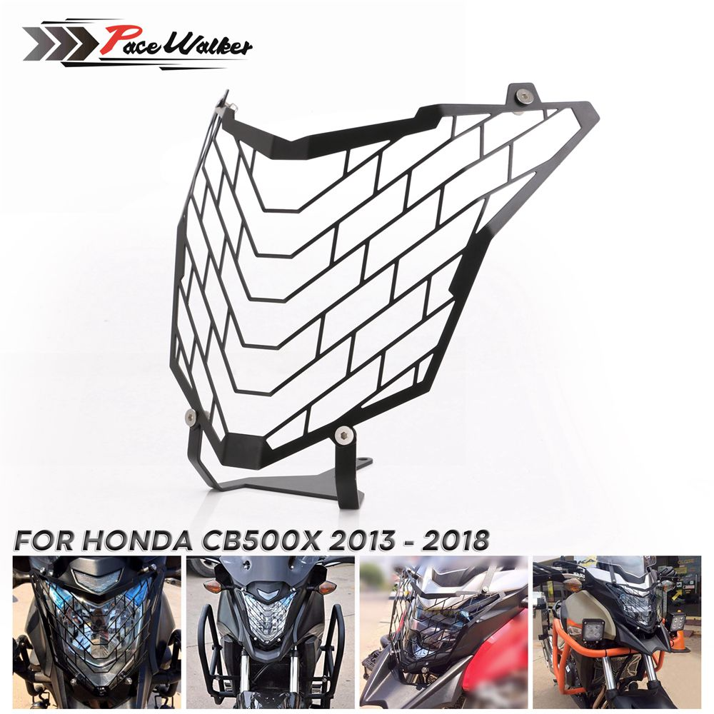 Motorcycle Headlight Head Lamp Light Grille Guard Cover Protector For Honda <font><b>CB500X</b></font> <font><b>2013</b></font> 2014 2015 2016 2017 2018 image