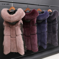 Faux Fur Coat Vest 2018 Autumn Winter CHEAPEST Fluffy Long Fur Coat Fake Fur Jacket Shaggy Cardigan F0134 4 Colors Zipper