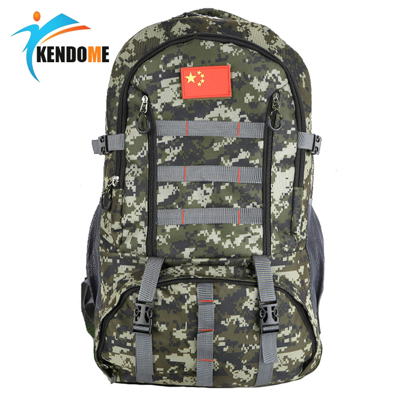 Hot Large 60L Military Tactical Backpacks Rucksack Climbing Bag Outdoor Cycling Bag with Sports Camping Travel Hiking Bag 60l nylon 900d outdoor sports army fans tactical backpack camping cycling hiking climbing rucksack military hunting sports bag