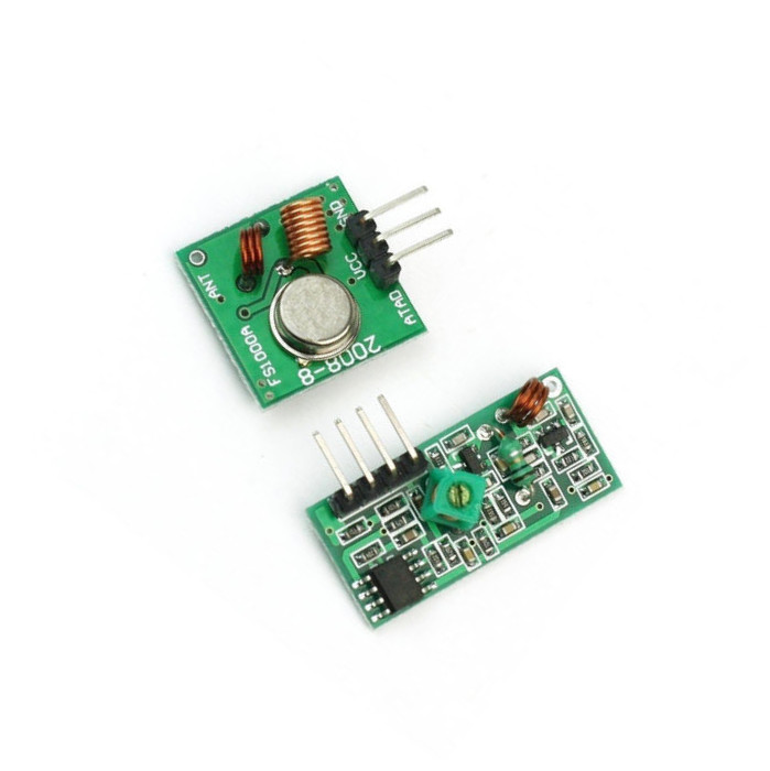 10PCS 315Mhz RF transmitter and receiver link kit for Arduino/ARM/MCU
