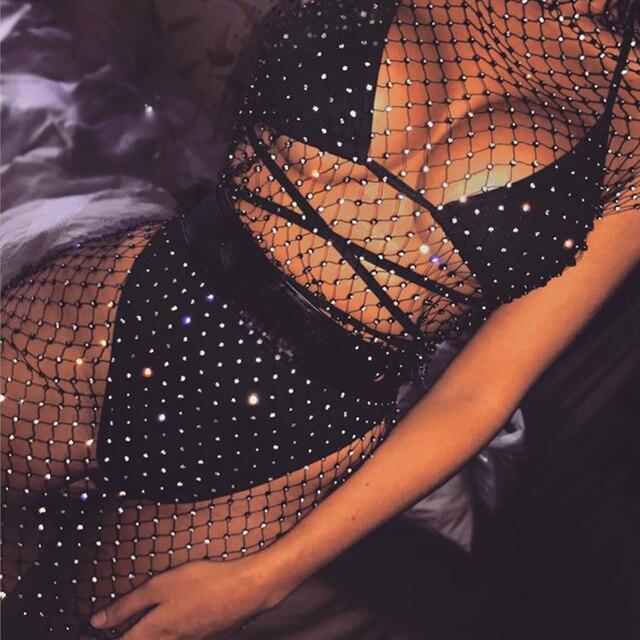 Chain mail bikini zena