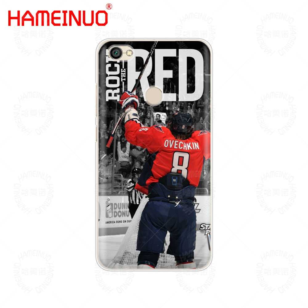 HAMEINUO Александр Овечкин крышка чехол для телефона для Xiaomi redmi 5 4 1 1 s 2 3 3 s pro PLUS redmi note 4 4X 4A 5A