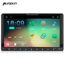 2017 New Pumpkin 7 Inch 2 Din Multi-Touch Screen Android 6.0 Marshmallow Car DVD Player With GPS Navigation Support DAB+ Wifi