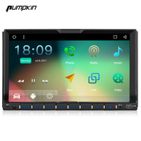 Pumpkin 7 Inch 2 Din Android 6.0 Universal Car DVD Player GPS Navigation Bluetooth Car Stereo DAB+ Wifi 3G FM Map Radio Headunit