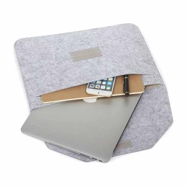 ソフト Macbook Air 13 網膜 13 ラップトップスリーブウールスキャナーフレッツ Macbook の網膜 12 プロ 13 15 タッチバーラップトップケースマウスバッグ