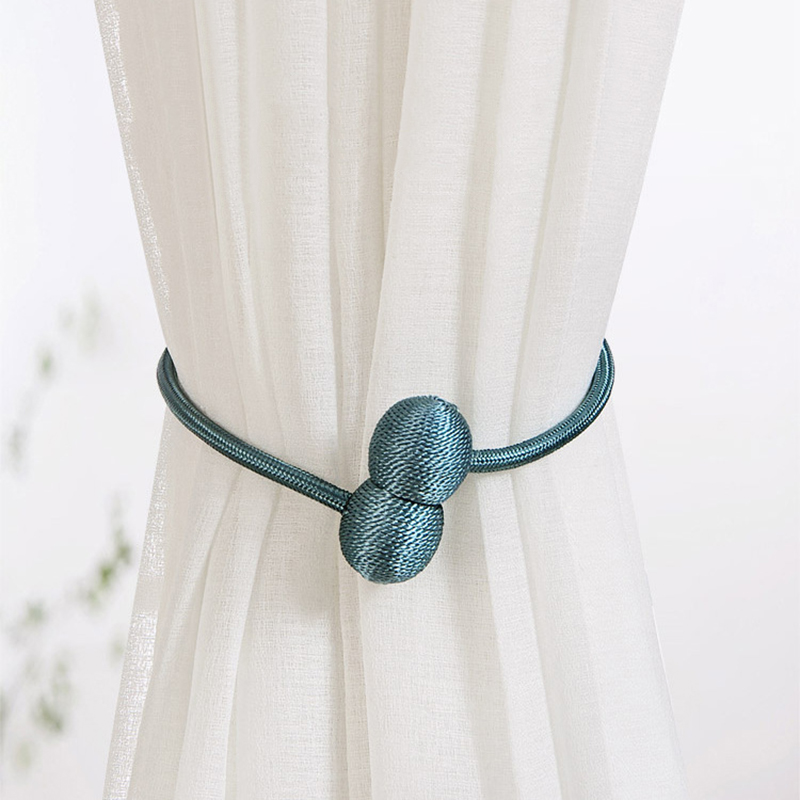 Hoofdtelefoon Vorm Magnetische Gordijn Gesp Decoratieve Magnetische Gespen Venster Accessoires Gordijn Tie Touw Room Decor Clip Cortina