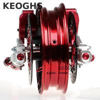 Keoghs Moto 33mm Rpm Avant Fourche Et Double 260mm Système De Frein avec Jante Un Ensemble Pour Yamaha Scooter Nmax Bws Cygnus T8 modifier
