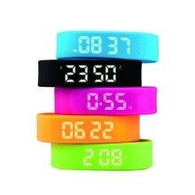 Trozum Мода Smart Band T5 шаг 3D интеллектуальных метр браслет Дисплей охраны окружающей среды силиконовый браслет