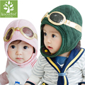 2016 New Winter Baby Hat Toddlers Warm Cap Hat Beanie Cool Baby Boy Girl Kids Infant Winter Pilot Cap 3 Colors Boy Girl Gift Hat