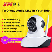 XM HD Wireless IP Camera IR-Cut Night Vision Audio Recording Network CCTV Onvif Pan/Tilt P2P Baby Monitor Wifi Home Security Cam
