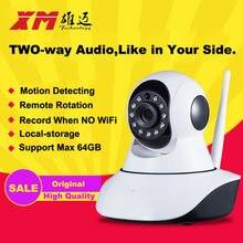 XM HD Cámara Inalámbrica IP IR-Cut Visión Nocturna de Grabación de Audio red Onvif CCTV Pan/Tilt P2P Baby Monitor Wifi Seguridad Para El Hogar Cam