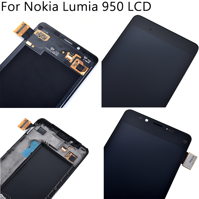 """Image 5 - 5.2"""" Tested For Nokia Lumia 950 RM 1104 1106 1118 LCD Display Touch Screen With Frame Digitizer Assembly Replacement Free Tools-in Mobile Phone LCD Screens from Cellphones & Telecommunications"""