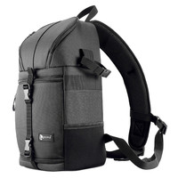 Camera Sling Bag Shoulder Cross DSLR Case Waterproof w/ Rain Cover Camera Sling Soft Padded Men Women Bag Backpack Camera/Video Bags