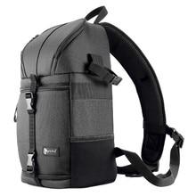 Kamera Sling çantası DSLR omuz çapraz vücut fotoğraf çantası su geçirmez w/yağmur kapağı siyah erkekler kadınlar çanta canon Nikon Sony