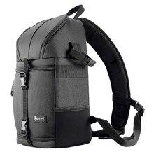 Sac à bandoulière pour appareil photo DSLR épaule bandoulière étui de photographie étanche avec housse de pluie noir hommes femmes sacs pour Canon Nikon Sony