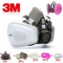 9 в 1 3 м 6200 промышленность Половина лица краска спрей противогаз респиратор Защитная безопасность работы Пыли Респиратор маска с фильтром