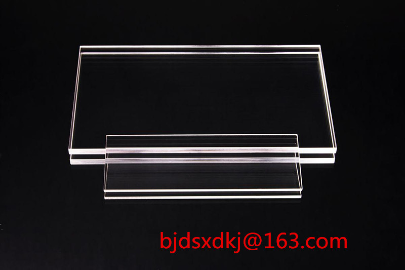 JGS1 Quartz Substrates/30mm*30mm*2mm Optical Window - Coated Substrate - PolishingJGS1 Quartz Substrates/30mm*30mm*2mm Optical Window - Coated Substrate - Polishing