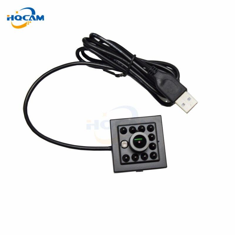 HQCAM 1.3mp MI1320 1/3 CMOS Инфракрасный usb камеры UVC с 10 шт. ИК ночного видения Алюминий мини случае WINXP, WIN2003, WIN7
