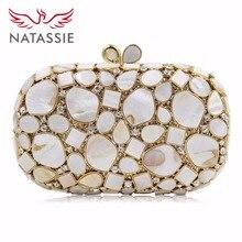NATASSIE Women Luxury Bags Ladies Designer Evening Bag Female Clutches