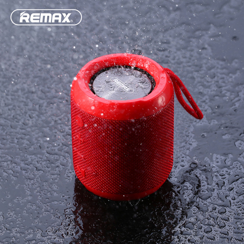 Original REMAX M21 Portable Mini Bluetooth Speaker Dual driver IPX5 Waterproof Speakers For TF TWS AUX